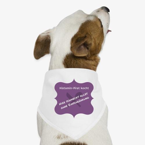 Histamin-Pirat kocht ohne Einschränkung (lila) - Hunde-Bandana