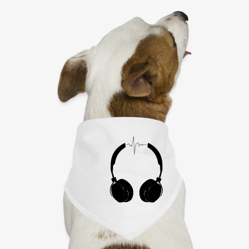 music on my mind - Bandana dla psa