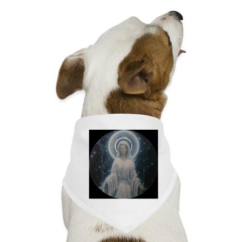 圣母玛利亚 Notre Dame by Jean Libon (Noir) - Bandana pour chien