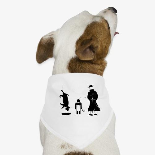 Pissing man against animal mass slaughtering. - Hunde-Bandana