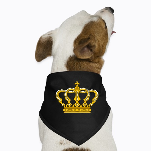 Golden crown - Dog Bandana