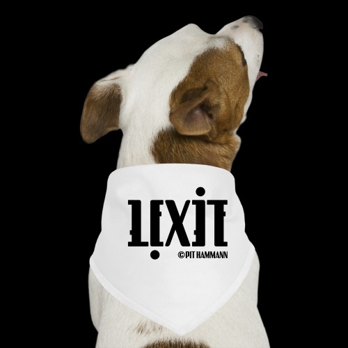Ambigramm Lexie 01 Pit Hammann - Hunde-Bandana