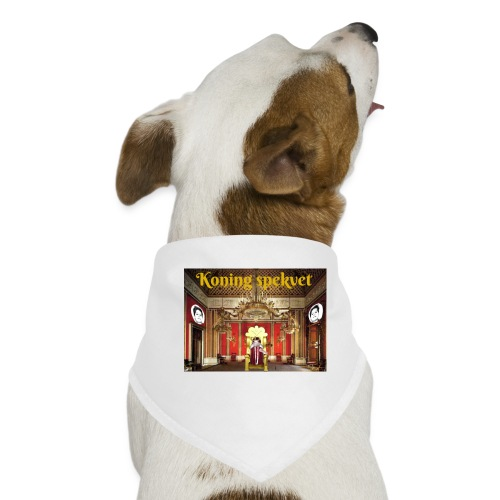 Koning Spekvet - Honden-bandana
