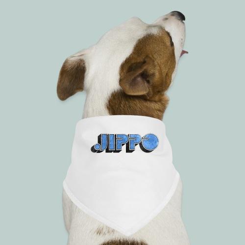 JIPPO LOGO (blue) - Koiran bandana