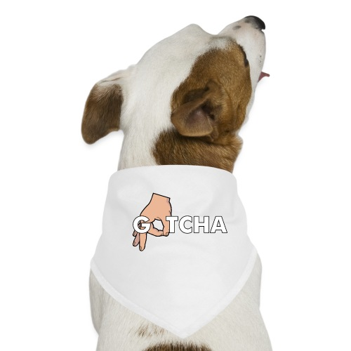 Gotcha Made You Look Funny Finger Circle Hand Game - Dog Bandana