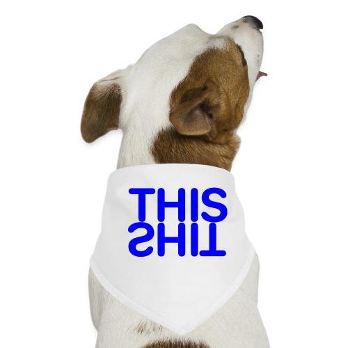THIS Blue - Pañuelo bandana para perro