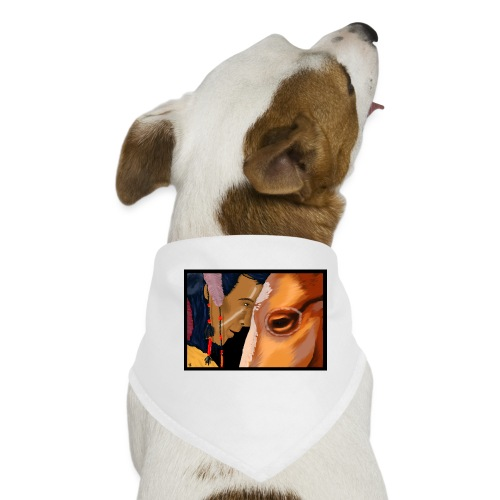Man and Horse - Honden-bandana