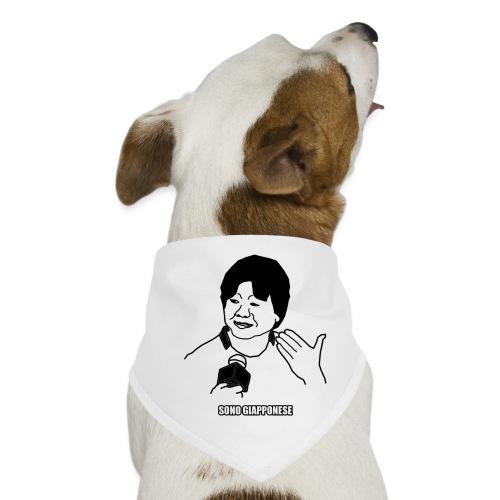 Sono giapponese - Bandana per cani