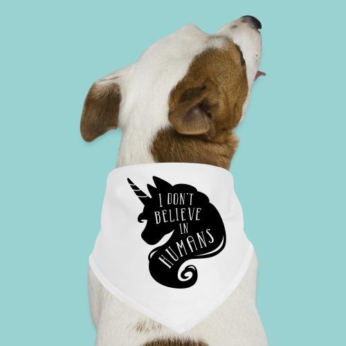 Believe in Humans - Hunde-Bandana