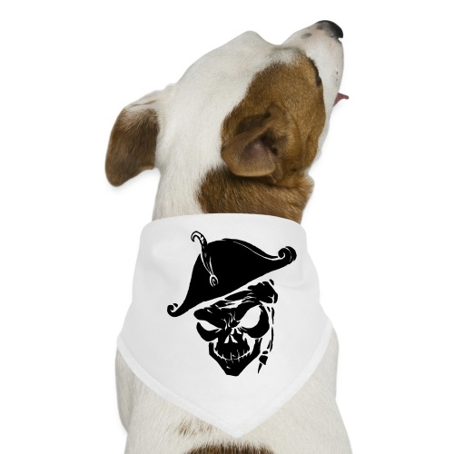 pirate skull - Honden-bandana