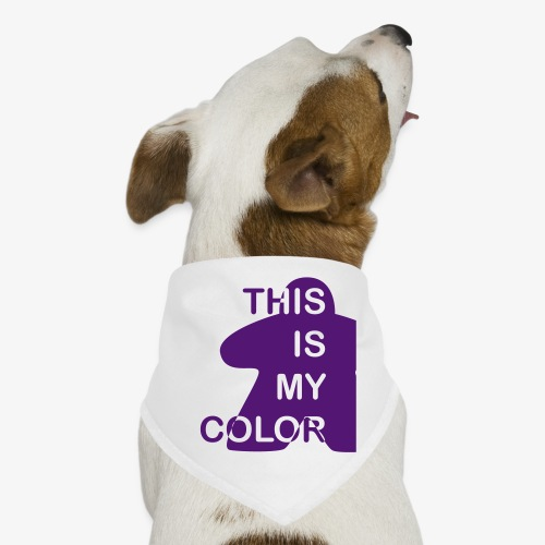 That is my Color - Hunde-bandana