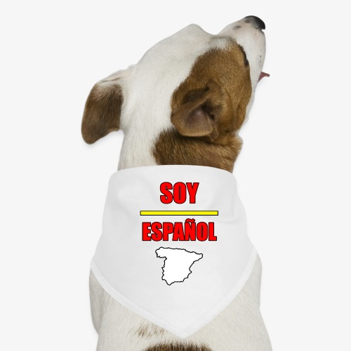 Soy Español - Pañuelo bandana para perro