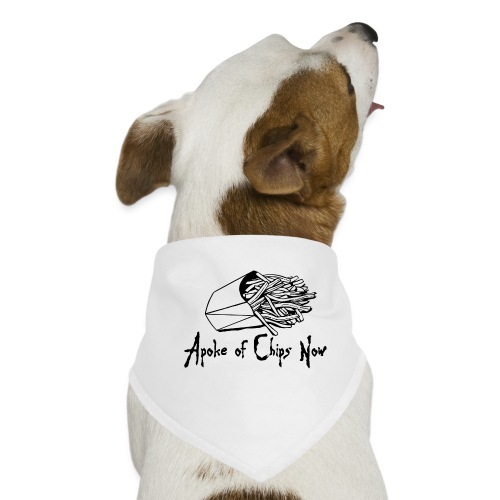 A Poke of Chips Now - Dog Bandana