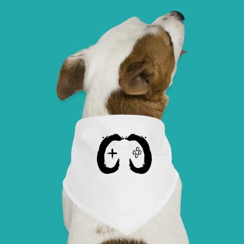 Crowd Control Controller Logo Black Large - Dog Bandana