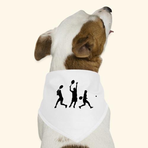 tennis en action - Bandana pour chien