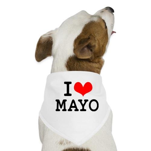 I Love Mayo - Dog Bandana