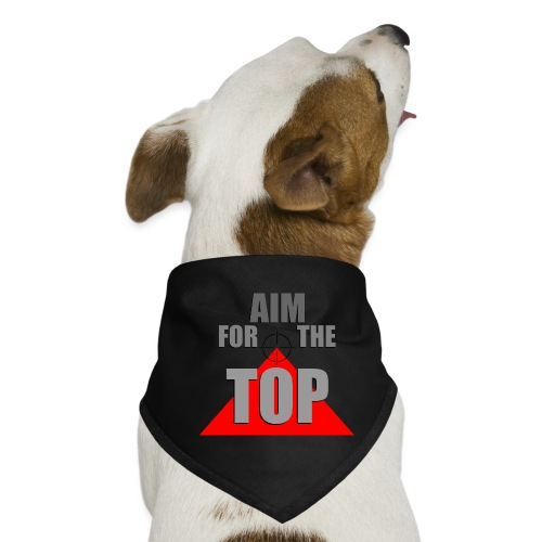 Aim For The Top, by SBDesigns - Bandana pour chien