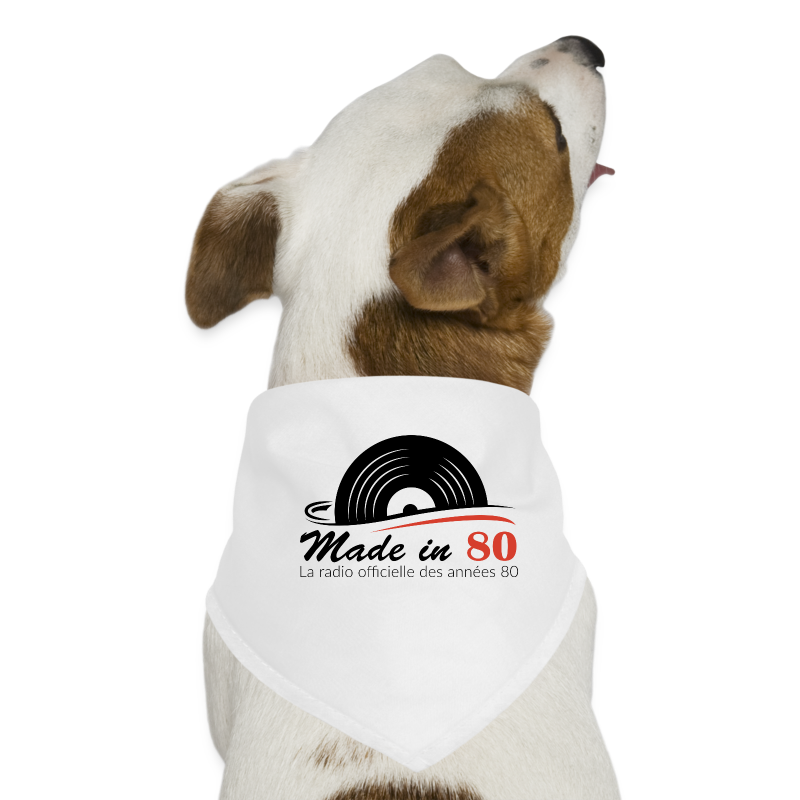 Made in 80 - Bandana pour chien