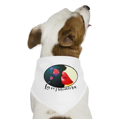 La Voz Silenciosa - Besos - Pañuelo bandana para perro