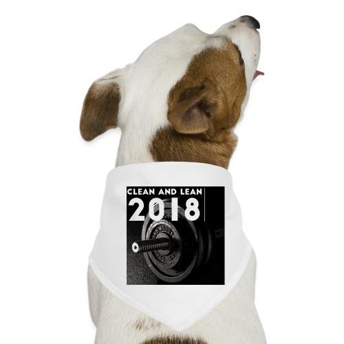 Clean and Lean 2018 - Dog Bandana