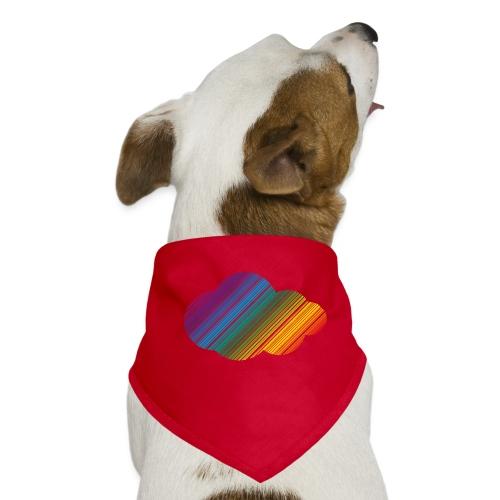 Regnbågsmoln - Hundsnusnäsduk
