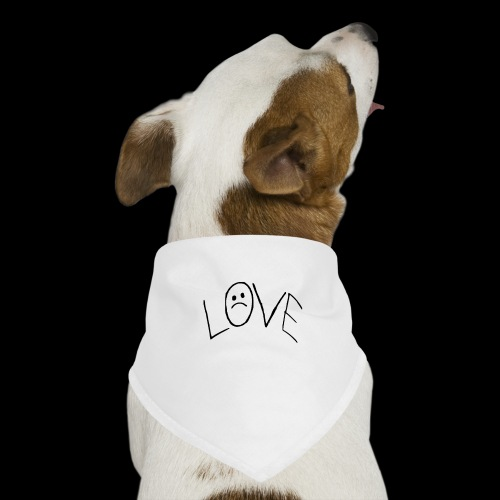 LOVE - Pañuelo bandana para perro