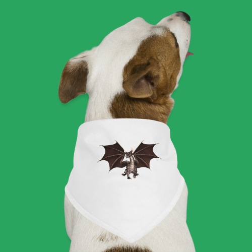 dragon logo color - Bandana per cani