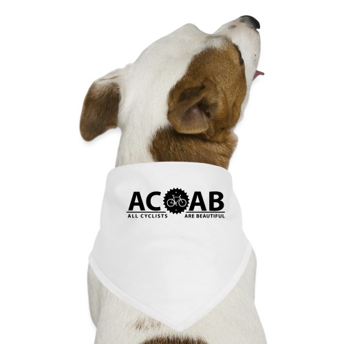 ACAB ALL CYCLISTS - Hunde-Bandana