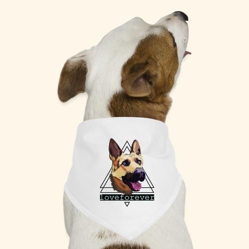 SHEPHERD LOVE FOREVER - Pañuelo bandana para perro
