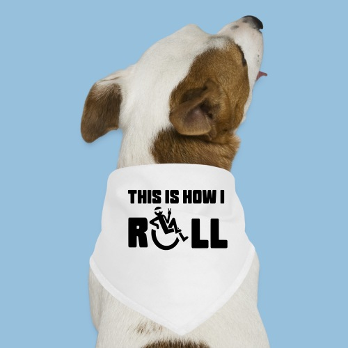 This is how i roll 006 - Honden-bandana
