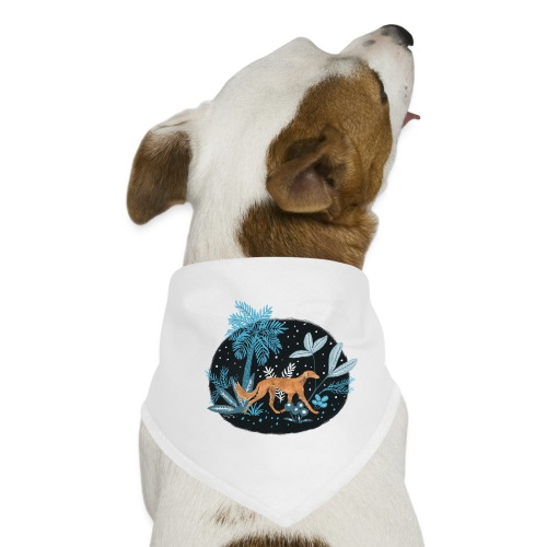 Saluki im Tropenwald - Hunde-Bandana