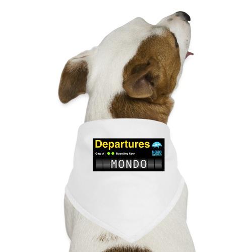 Departures MONDO jpg - Bandana per cani