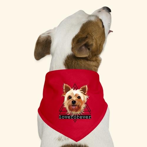 YORKIE LOVE FOREVER - Pañuelo bandana para perro