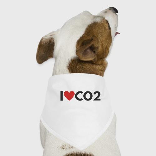 I LOVE CO2 - Koiran bandana