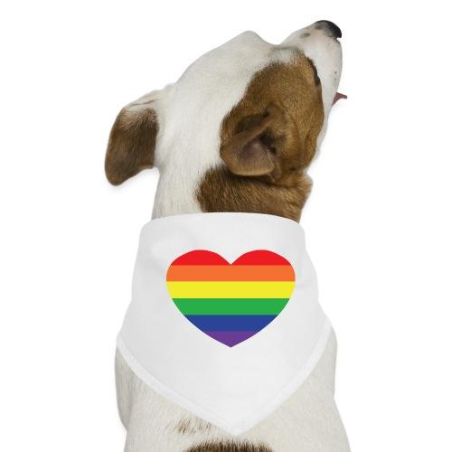 Rainbow heart - Dog Bandana