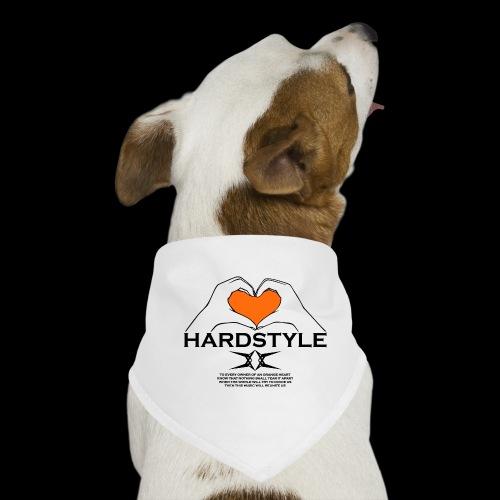 Hardstyle = My Style - Owner Of An Orange Heart - Honden-bandana