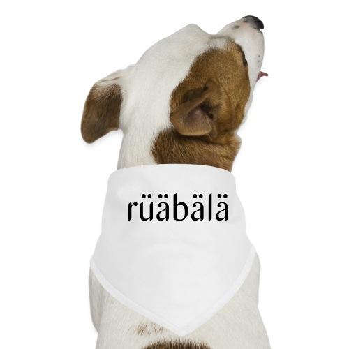rüäbäla - Hunde-Bandana