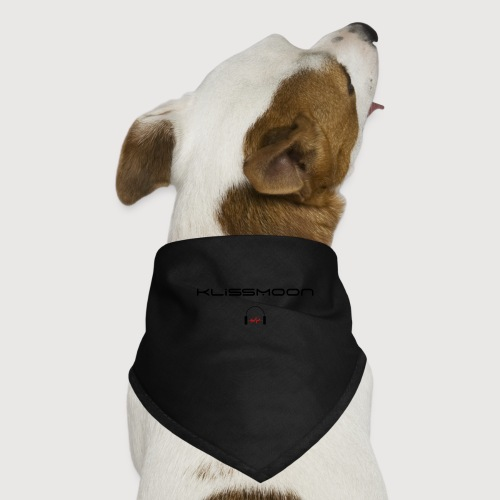 Klissmoon Logo black - Dog Bandana