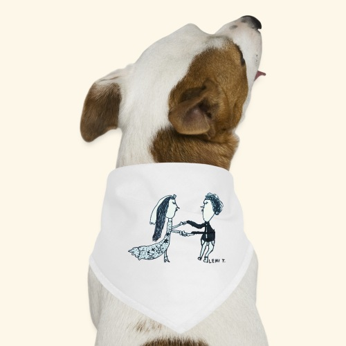 LeniT Just Married - Koiran bandana
