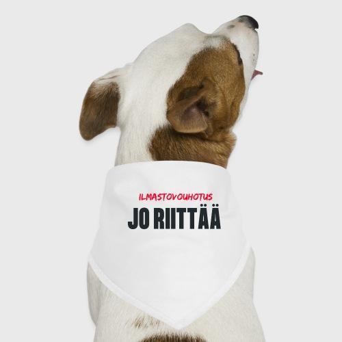 JO RIITTÄÄ - Koiran bandana