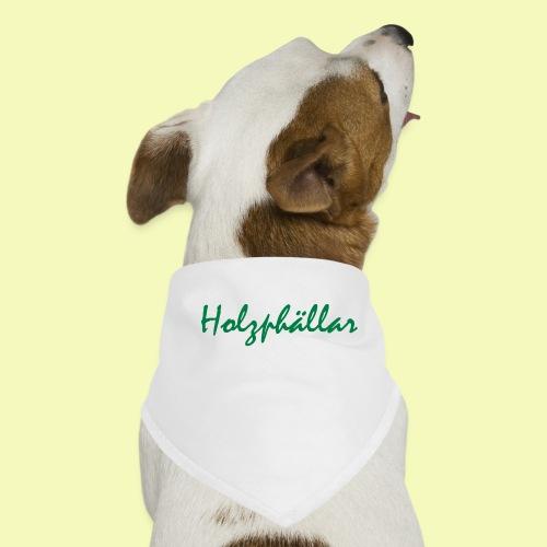 Schriftzug Grün - Hunde-Bandana