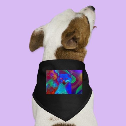 Gattino con effetti neon surreali - Bandana per cani