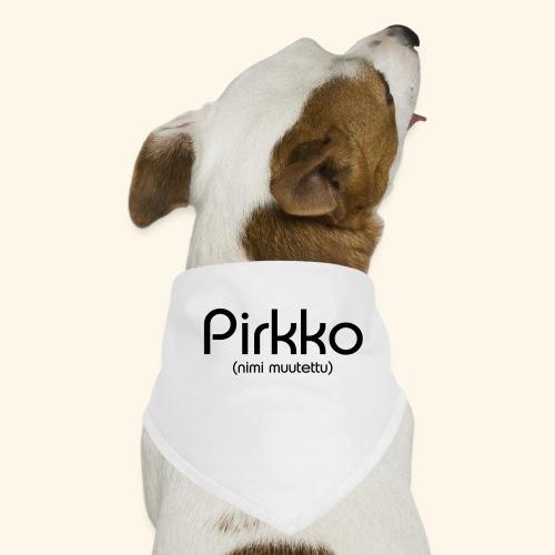 Pirkko (nimi muutettu) - Koiran bandana