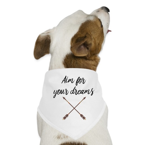 Aim for your Dreams - Koiran bandana