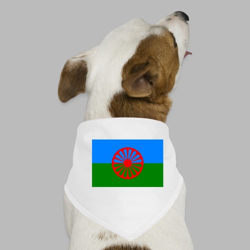 Flag of the Romani people - Hundsnusnäsduk