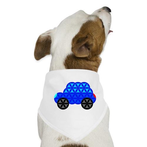 The Car Of Life - M01, Sacred Shapes, Blue/R01. - Dog Bandana