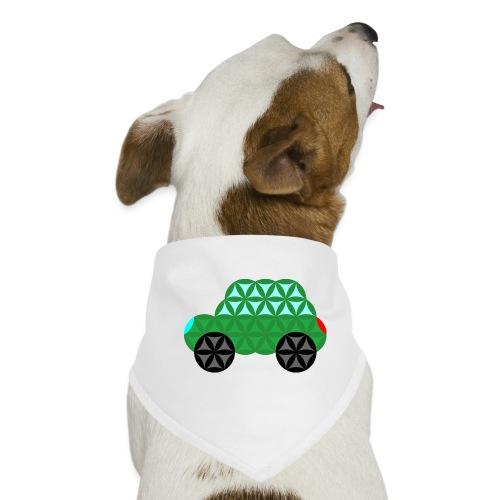 The Car Of Life - M02, Sacred Shapes, Green/363 - Dog Bandana
