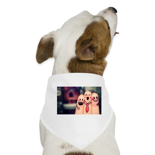 słodkie palce - Bandana dla psa