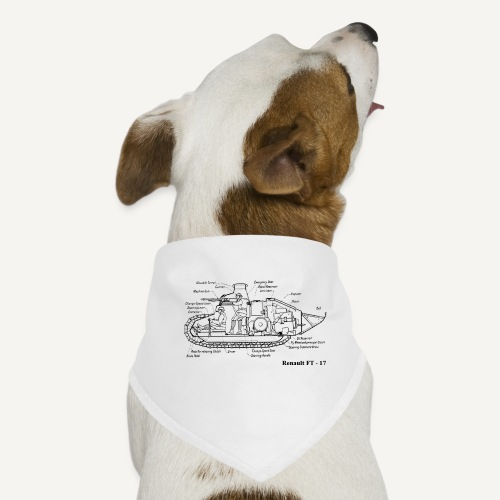 ft17 - Bandana dla psa