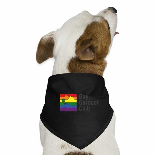 GOC Logo Black Text - Dog Bandana